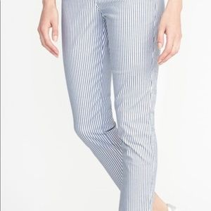 Old Navy Pants - Old navy railroad pixie chino pants nwt ankle 8